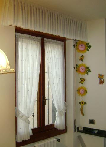 Tende a vetro in tessuto tenda facile by maglitto michele - Tende per bagno a vetro ...